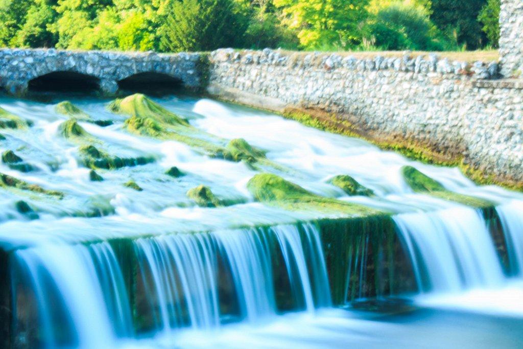 Long Exposure of of water